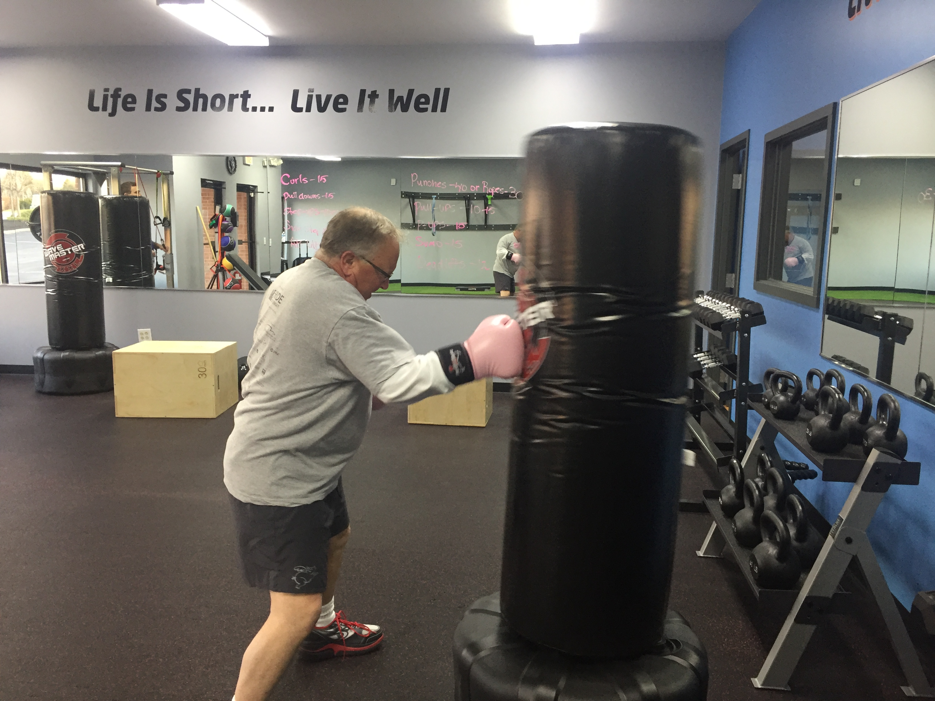Bootcamp at Living Well Fitness
